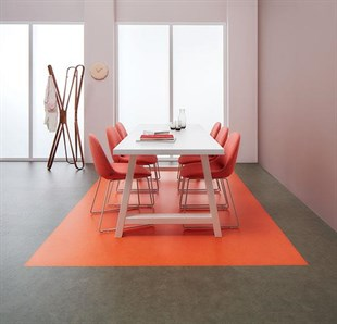 Flex Fox Orange Sök-Tak LVT